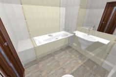 3D-Дизайн квартиры, пр-т Коптюга 15, 3-ком, фото №2