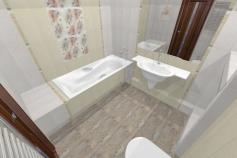 3D-Дизайн квартиры, пр-т Коптюга 15, 3-ком, фото №3