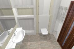 3D-Дизайн квартиры, пр-т Коптюга 15, 3-ком, фото №13