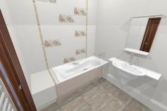 3D-Дизайн квартиры, пр-т Коптюга 15, 3-ком, фото №16
