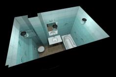 3D-Дизайн квартиры, ул. Российская 8, фото №2