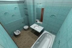 3D-Дизайн квартиры, ул. Российская 8, фото №4