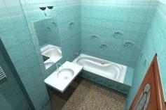 3D-Дизайн квартиры, ул. Российская 8, фото №6