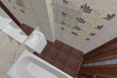 3D-Дизайн квартиры, ул. Экваторная 1, 3-ком, фото №1