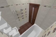 3D-Дизайн квартиры, ул. Экваторная 1, 3-ком, фото №3