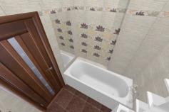 3D-Дизайн квартиры, ул. Экваторная 1, 3-ком, фото №4