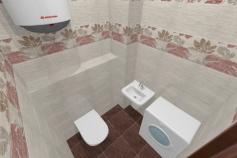 3D-Дизайн квартиры, ул. Экваторная 1, 3-ком, фото №7