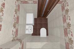 3D-Дизайн квартиры, ул. Экваторная 1, 3-ком, фото №8