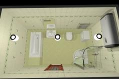 3D-Дизайн квартиры, пр-т. Коптюга 7, 4-ком, фото №8