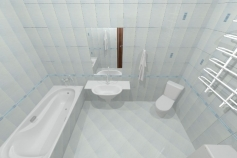 3D-Дизайн квартиры, ул. Балтийская 25, фото №1