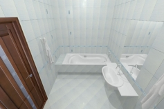 3D-Дизайн квартиры, ул. Балтийская 25, фото №3