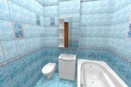 Дизайн квартиры, Экваторная 1-1