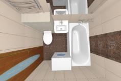 Дизайн ванной Новосибирск Академгородок