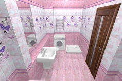 3D-Дизайн квартиры, пр-т Коптюга, 3-ком, 126 м2, фото №2