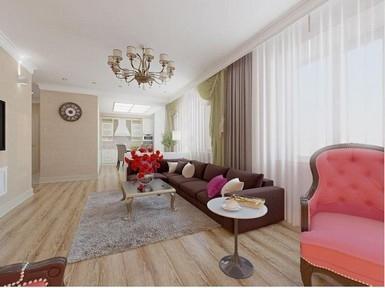 Дизайн интерьера, ул. Российская 21, 102м2, (2014)