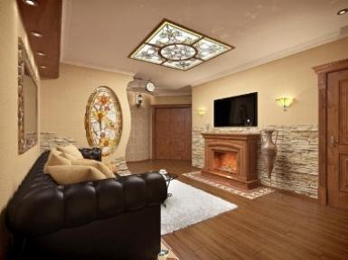 Дизайн интерьера, пр-т Коптюга, 3-комнатная